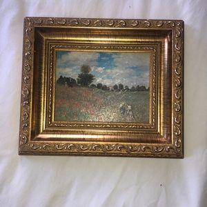 Antique/vintage oil painting Claude Monet 1873